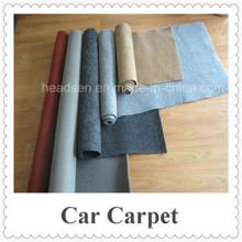 Оптовая 100% полиэстер Car Carpet