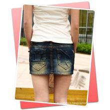 jeans short skirt