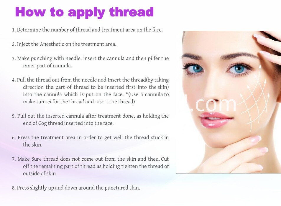 thread lift for skin lifting