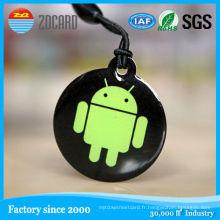 Étiquette RFID petite étiquette NFC étiquette NFC réinscriptible en plastique