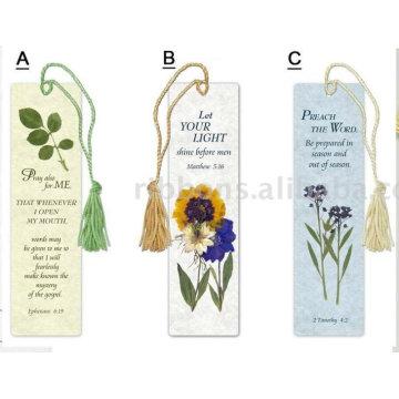 borla colorida para marcador / marcadores personalizados con borlas / borla de marcadores de nylon