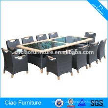 11 Pieces Table et chaise en bois