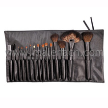 Professional Black Handle Makeup Brush Cosmetic Brush with Cosmetic Case