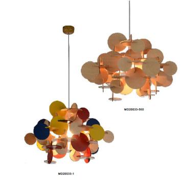 Iluminación colgante de madera de la novedad moderna (MD20033-560)