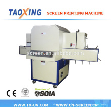flat & round UV curing machine for Cup and bottle
