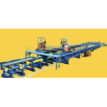 H- beam welding line