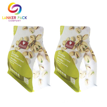 FAD Disetujui Stand Up Reusable Plastic Snack Bags