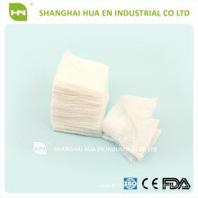 Ce, Fda, Iso13485 Aprovado Medical X-ray Detectable Cotton Gauze Swab / esponja