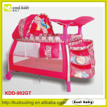 New en1888 luxury design travel system baby playpen toy bar