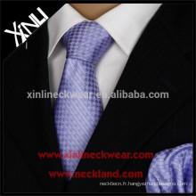 Nettoyer à sec seulement le dernier manteau de conception et cravate pour les hommes