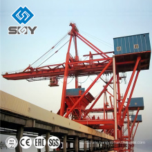 1500T/h Grab Ship Unloader Crane For Coal