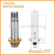 0927 Serie Magnetventil Gewindeart Solenoid Schwenkarmatur Montage
