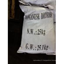 Agent dépolarisant d'adsorbant d'industrie de verre de dioxyde de manganèse