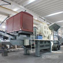 Flexible Configuration Portable Crushing Plant