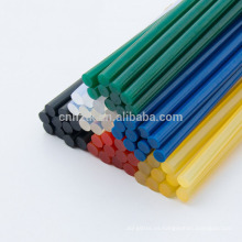 Barra de pegamento de fusión en caliente de China, barra de pegamento pequeña y colorida