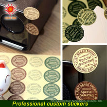 2015 Simple Design High Quality Safety Temporary Metallic Tattoo Sticker, Nice Golden Rose Tattoos for Female