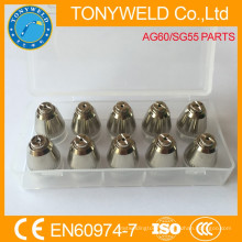 AG60 SG55 gas cutting nozzle plasma cutting tip