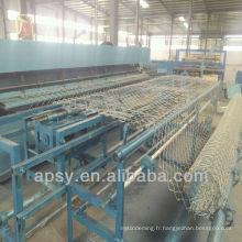 Machine de clôture de maillon de chaîne