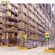 equipo de almacenamiento de almacén selectivo palet rack