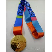 Nouvelles répliques de médailles d'or olympiques (XY160914)