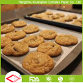FDA Hitzebeständige Ofen Safe Greaseproof Silikon Backpapier Rollen und Blätter