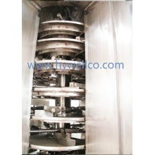 Plg Series Continuous Vacuum Plate Drying Machine for Foodstuff Powder / Granules