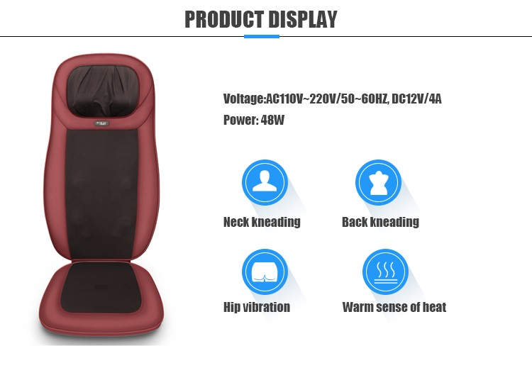 Neck Back Massage Cushion
