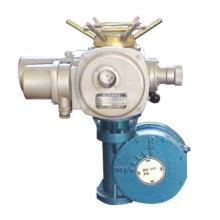 Actuador eléctrico de modulación con operador de engranajes