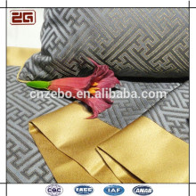 Wholesale High Quality Customized 100% Polyester Hotel Bed Scarves Bed Runner