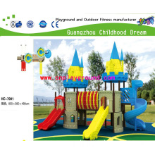 School Playground, Middle Size Outdoor Castle Playground