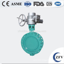 2015 hot sale! Flange type butterfly electric water valve