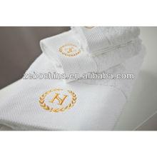 Toalla de algodón 100% de alta calidad de guangzhou hotel toalla fabricantes