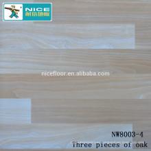 NWseries Three pieces of oak Parquet wood flooring HDF core Parquet Flooring