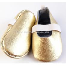 Последний высококачественный симпатичный кружевной первый ходун мягкий ребенок девочка кожаный ботинок