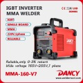 ZX7 160 a soudeur d'inverter de 5kw unique Phase MMA DC