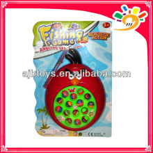 Cute cartoon bird design fishing toy,flashing fishing toy with fishing rod,with music