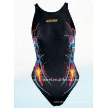 Professioneller Badeanzug des Jinjiang-Herstellers für Frauen, einteilige Badebekleidung