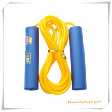 Training Leather Speed Jump Rope for Promotion (OS07021)