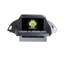 Quad core!car dvd with mirror link/DVR/TPMS/OBD2 for 8 inch touch screen quad core 4.4 Android system FORD KUGA 2013(EUROPE)