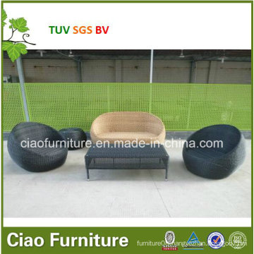 2016rattan Outdoor Coffee Table and Chair with Coffee Set (FC043+FS015)