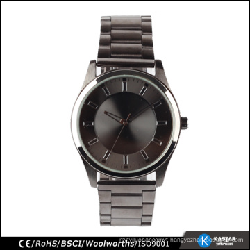 japan movt watch stainless steel black wrist watch