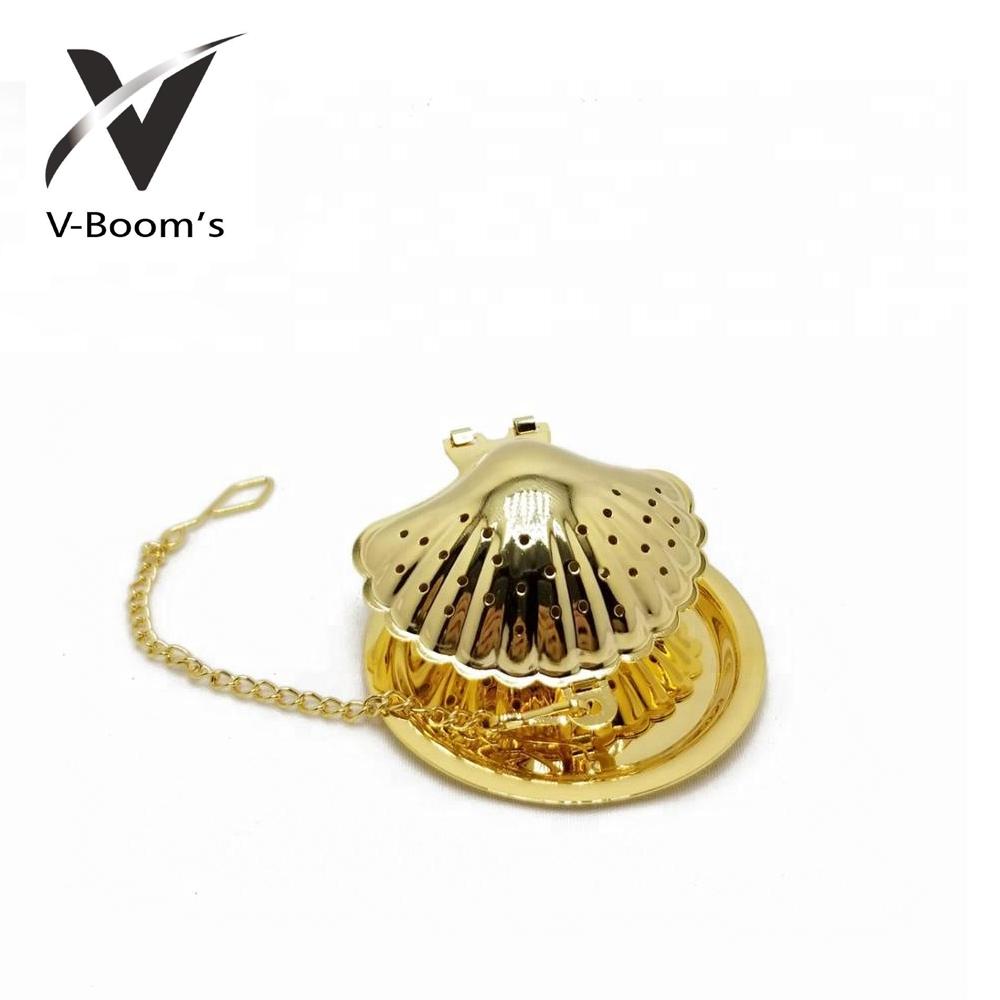 Shell Shape Tea Infuser Ball
