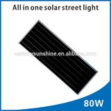 80W high lumens solar light solar garden light street solar light on sale
