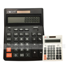 Optional Digits Dual Power Black Office Calculator for Business (CA1092A-B)