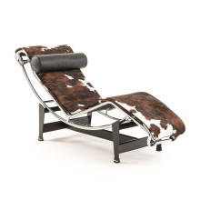 Cassina Le Corbusier LC4 Chaiselongue Pony Leder