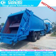 10cbm Dongfeng 4x2 recusada compactador caminhões
