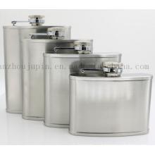 OEM Logo Vodka Whisky Stainless Steel Hip Flask for Promotion