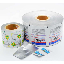 Film de rouleau d'emballage de sachet de film de papier d'aluminium de 3 plis