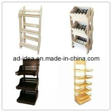 Деревянные стойки дисплея для ювелирных изделий магазин продуктов /одежды /рекламы (AD-130502)