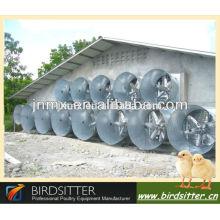 Vente chaude Equipement automatisé de système de ventilation pour la ferme de poulets de chair et élevage